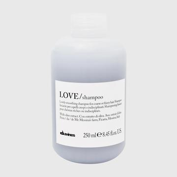 Bottle of Davine Love Shampoo