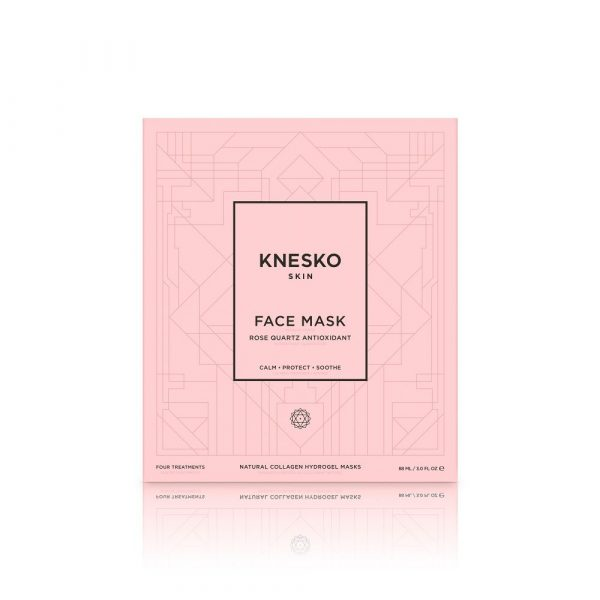 ROSE QUARTZ ANTIOXIDANT COLLAGEN FACE MASK (4 TREATMENTS)