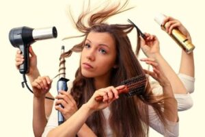 #9: Don't overdo beauty treatments on your hair