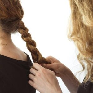 Trick 4: try braiding your hair